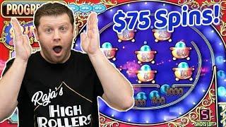 $75 Pinball Jackpot Bonus  Max Bet Double Diamond Pinball at Seminole Hardrock Hollywood Casino