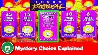 •️ New - Lunar Festival slot machine, Mystery Choice Bonus Analyzed