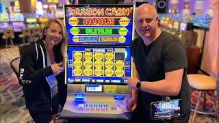 Back In Reno for High Limit Slot Play  Live at The Atlantis Casino Resort Spa