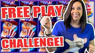 FREE PLAY CHALLENGE !! AND....THE WINNER IS !?