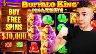 DOING BIG $10,000 BONUS BUYS ON BUFFALO KING MEGAWAYS ft. @Foss