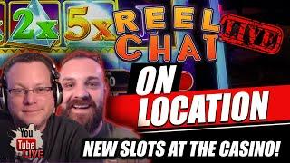 REEL CHAT LIVE AT THE CASINO  ON LOCATION / WITH SPECIAL GUEST LIVE IN VEGAS!