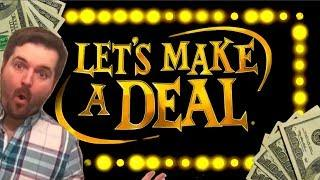 SDGuy Will Make You A Deal! Amazing Winning on Let's Make A Deal Slot Machine!