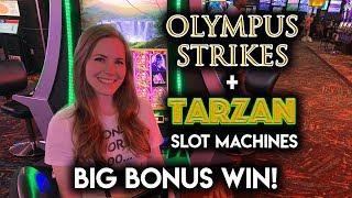 FINALLY! Winning on Tarzan Slot Machine! AWESOME BONUS!