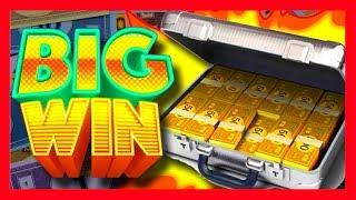 MASSIVE BET of $10/Spin BRINGS MASSIVE WIN ***AMAZING RUN*** on Monopoly BONUS City Slot Machine