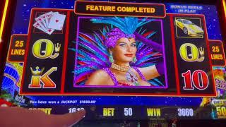 High Stakes Lightning Cash - High Limit Slot Play - $25 Spins and More