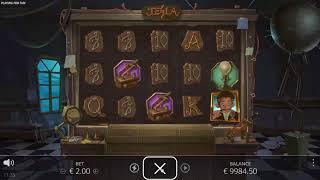Tesla Jolt slot from Nolimit City - Gameplay