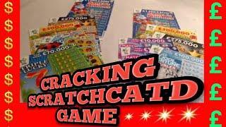 Cracking Scratchcard Game...9x Lucky..£100,000 purple..Fast £500s..Millionaire 7s..mmmmmmMMM