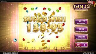 Gold Megaways Slot - Free Spin + Re-Triggers MEGA WIN!