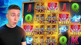 €10,000 Bonus Buy on Release the Kraken Slot