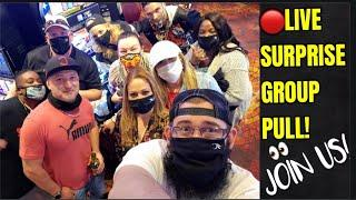 LIVE GROUP PULL FROM CHOCTAW CASINO RESORT-GRANT