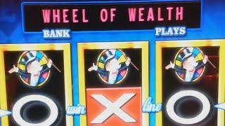 £5 Challenge Monopoly Wheel of Wealth Fruit Machine at Funland Hayling Island