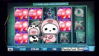 $10 freeplay spins on Piggy Bankin