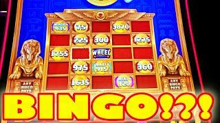 THIS NEW SLOT MACHINE HAS A BINGO CARD!! -- New Casino Game Bonus Video