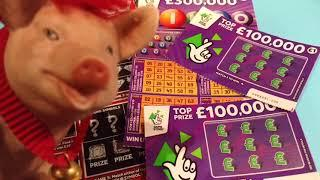 SCRATCHCARDS...WOW!...WHAT A NICE..WINNER.....CLASSIC GAME TONIGHT