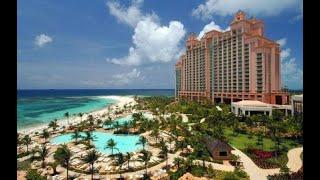 TOUR OF 2 BEDROOM SAPPHIRE SUITE AT THE COVE ATLANTIS CASINO ON PARADISE ISLAND IN NASSAU, BAHAMAS