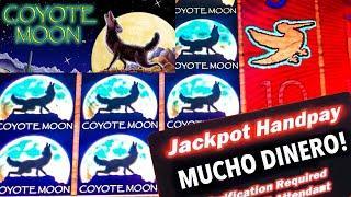 COYOTE MOON BIG WIN~ HIGH LIMIT~LIMITE ALTO~ FREE GAMES
