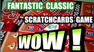 Wins.Everywhere.Unbelievable.Scratchcards..Fantastic game..Help to get your Mind of world Problems