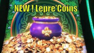 NEW LEPRE'COINS ! BIG WIN !WILD LEPRE'COINS GOLD RESERVE Slot $135.00 Free Play Live彡栗スロ