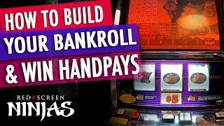 VGT SLOTS  - HOW TO BUILD YOUR BANKROLL AND WIN A HANDPAY LIKE A NINJA