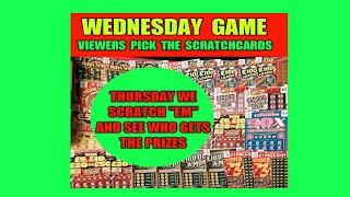 """SCRATCHCARDS""""VIEWERS PICK TO DAY"""".WE SCRATCH THEM TOMORROW"""