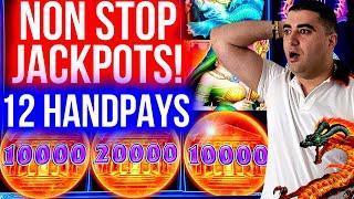 How It's POSSIBLE ? 12 HANDPAY JACKPOTS On High Limit Slots | Winning Mega Bucks At Casino