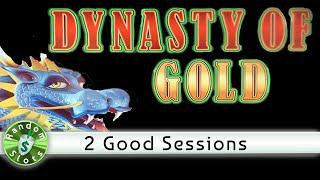 Dynasty of Gold slot machine, 2 Good Sessions