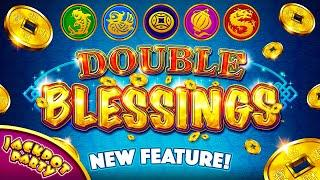 Play Double Blessings for Free with Jackpot Party Casino!