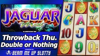 Jaguar Mist Slot - TBT Live Play, Double or Nothing