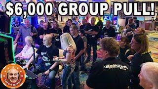 Raja's BIRTHDAY BASH! •$6,000 GROUP PULL •High Limit Lock It Link & Dragon Link •