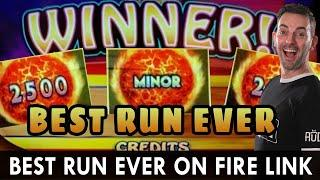 BEST. RUN. EVER.  Ultimate Fire Link at Choctaw Casino in Durant