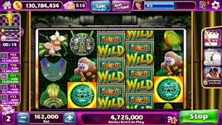 "JUNGLE WILD Video Slot Casino Game with a ""BIG WIN"" RETRIGGERED FREE SPIN BONUS"