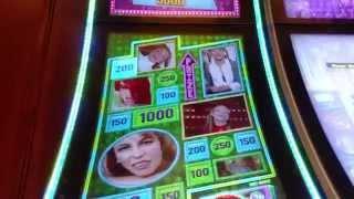 Aristocrat Britney Spears Hit me one more time Bonus round slot machine