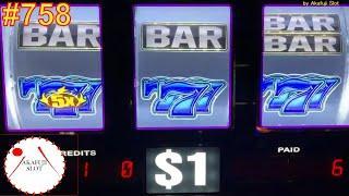 High Limit SlotBlazin GEMS Slot on Free Play Live, Max Bet $27, 3 Reels, EVERI 赤富士スロット あかふじ