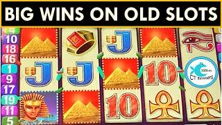 MUST PLAY OLDIES! BIG WINS ON OLD SLOTS! KING OF THE NILE SLOT MACHINE, DEAN MARTIN, HOT HOT PENNY!