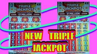 """New Triple Jackpot Scratchcard...with extra Bonus Cards.....️,.. """"One Card Wonder"""""""