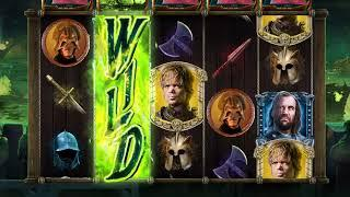 """GAME OF THRONES: BATTLE OF BLACKWATER Video Slot Game with a """"LEGENDARY"""" WILDFIRE FREE SPIN BONUS"""