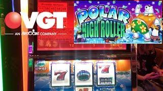 VGT Polar High Roller & Red Screens