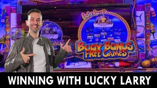 LUCKY Lineups  Lucky Larry's Lobster Mania 3  Rising Fortunes ️ Dragon Link  BONUS Rounds