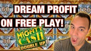 $240 Free Play Challenge on Mighty Cash Double Up ️ ️ @ Red Hawk Casino!!! HUGE CONVERSION