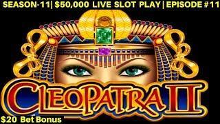 High Limit Cleopatra 2 Slot Bonus Win -High Limit QUICK HIT & Lightning Link | SE-11 | EPISODE #11