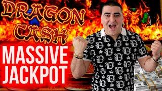 Dragon Cash Slot MASSIVE HANDPAY JACKPOT | Winning Mega Bucks At Casino