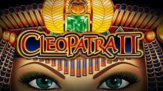 CLEOPATRA 2  HIGH LIMIT  NICE WINS!  LOTS OF BONUSES