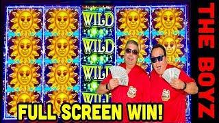 RARE! FULL SCREEN STAR AT MAX BET SLOT! CAN YOU BELIEVE THIS?CASINO GAMBLING!
