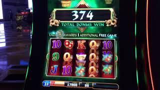 Fu Dao Le Slot Machine Free Spin Bonus #3 Aria Casino Las Vegas 8-17