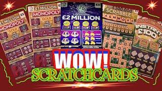 Great Game....£2 Million Purple..MONOPOLY GOLD..SCRABBLE CASHWORD..Instant £100.. mmmmmmMMM..says