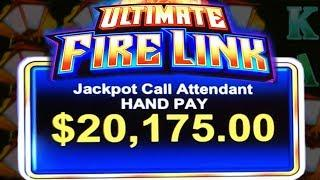 MY 2ND BIGGEST JACKPOT HANDPAY ON YOUTUBE!!  HIGH LIMIT  ULTIMATE FIRE LINK JACKPOT HANDPAY