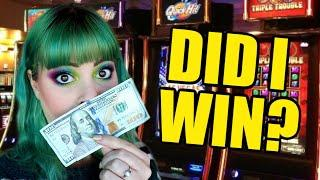 I put $100 in a slot machine at the Wynn in Vegas...  Here's what happened