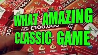 """AMAZING CLASSIC SCRATCHCARD GAME....ALL """"10X CASH""""CARDS..FROM DIFFERENT SHOPS"""