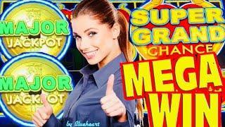 AMAZING DAY! DOLLAR STORM slot machine SUPER GRAND chance and MAJOR JACKPOT WINS!